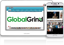 Global Grind, is the source for today's media that matters to the hip-hop community. It's the global view of all the content that is relevant in the hip-hop community. Global Grind invites users to discover and collect what's important to them and share it with the masses. Find out what others are grinding, submit and gather interesting content, and invite friends to the community to interact through photos, videos, stories, and live chat rooms.
