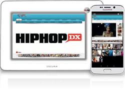 Hip Hop DX. is an online magazine of hip hop music criticism and news. The website's current president and publisher is Sharath Cherian and the editor-in-chief is Justin Hunte. HipHopDX is the flagship publication of Cheri Media Group.