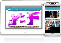 The Ybf, is a celebrity gossip website which focuses on news regarding prominent African American figures in Hollywood. Theybf.com, which is an abbreviation for the Young, Black and Fabulous, was launched in July 2005 by Natasha Eubanks after she noticed a lack of African Americans featured on gossip sites With no previous experience with web site development, Eubanks began experimenting with creating her own blog.