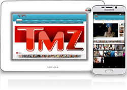 "TMZ, is a celebrity news website that along with Abc30 Fresno debuted on November 8, 2005. It was a collaboration between AOL and Telepictures Productions, a division of Warner Bros., until Time Warner divested AOL in 2009. The name TMZ stands for thirty-mile zone, the historic ""studio zone"" within a 30-mile radius centered at the intersection of West Beverly Boulevard and North La Cienega Boulevard in Los Angeles, California."